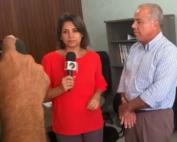 Jader Guedes (Presidente da EMASA) na TV Santa Cruz 01